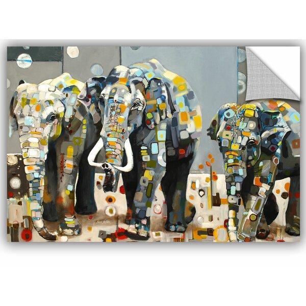 Britt Freda Sumatran Elephant Wall Decal by ArtWall