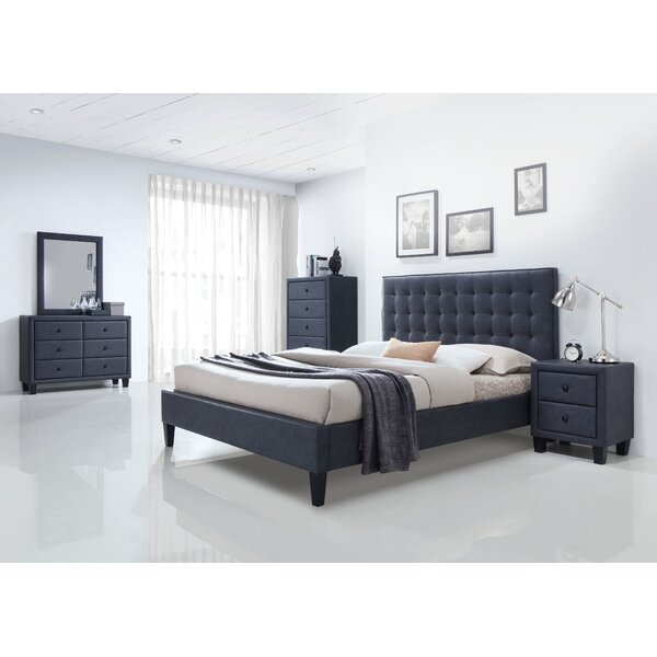 Bodnar Platform Configurable Bedroom Set by Wrought Studio