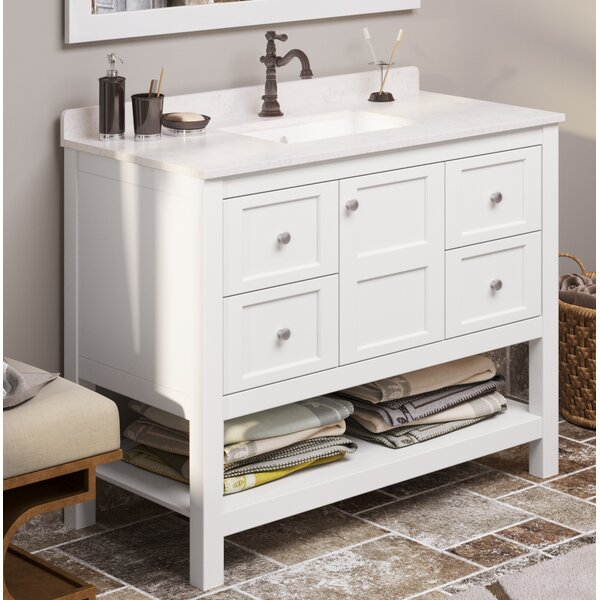 Bradninch 42 Single Bathroom Vanity Set by Highland Dunes