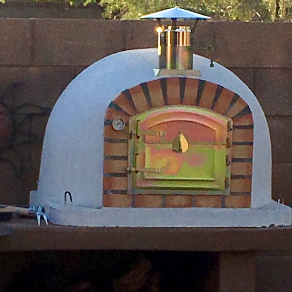Traditional Brick Lisboa Wood Fire Oven by Authentic Pizza Ovens
