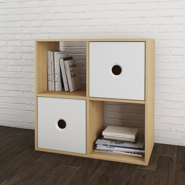 Bunn Cube Unit Bookcase by Ivy Bronx