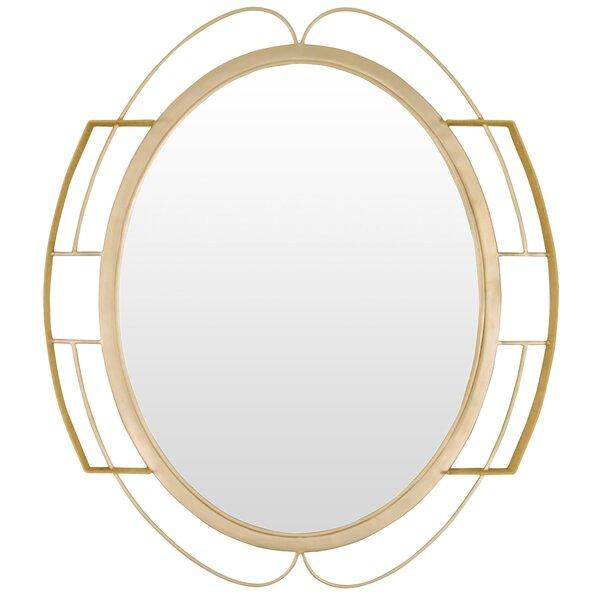 Tinali Oval Wall Mirror by Varaluz