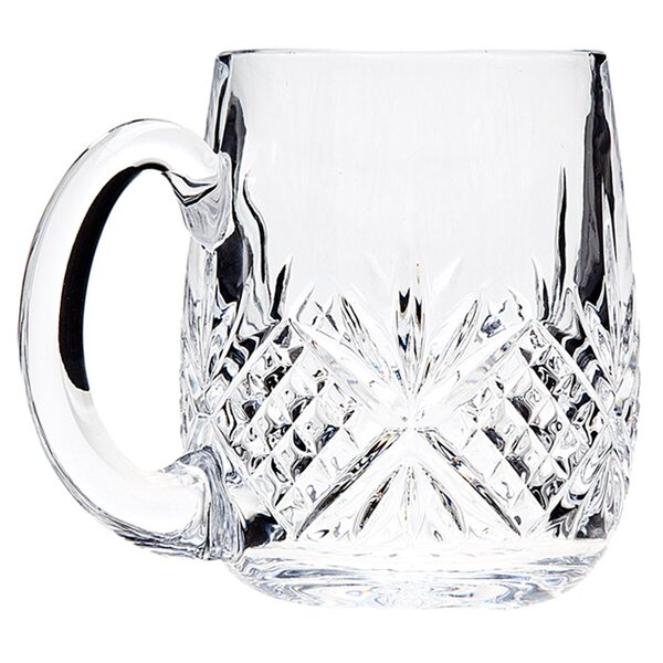 Dublin 18 Oz. Crystal Beer Mug (Set of 2) by Godinger Silver Art Co