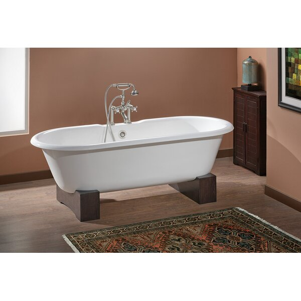 Regal 61 x 31 Soaking Bathtub with Continuous Rolled Rim by Cheviot Products