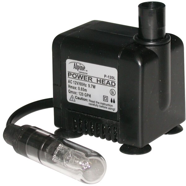 120 GPH Pump by Woodland Imports