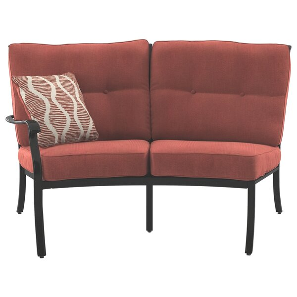 Wydra Loveseat with Cushions by Darby Home Co
