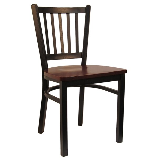 Vertical Dining Chair by H&D Restaurant Supply, Inc.