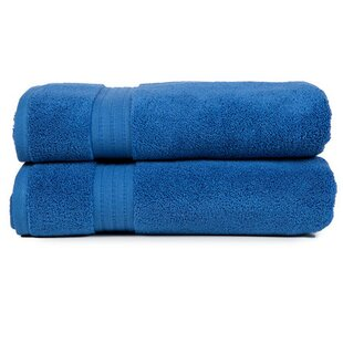 Morton Living Fine 100% Cotton Bath Towel (Set of 2)