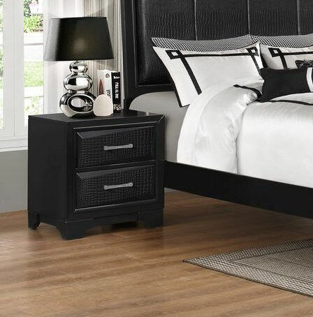 Oona 2 Drawer Nightstand by Wrought Studio