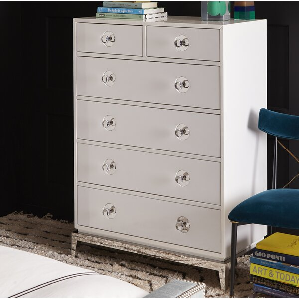 Channing 6-Drawer Standard Chest by Jonathan Adler