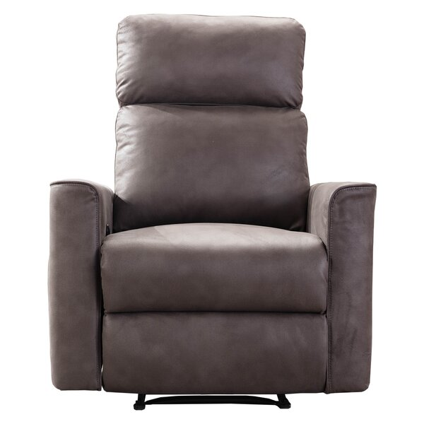 Lefke Faux Leather Manual Recliner W003378702