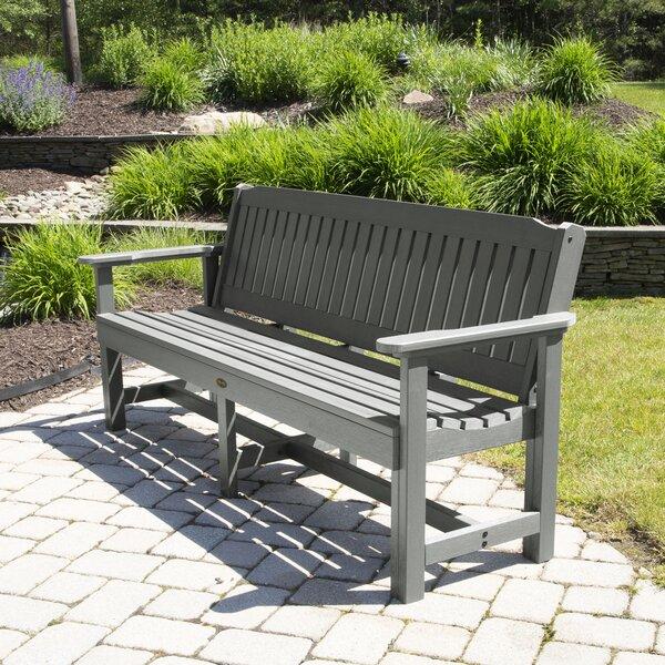 Goyette Plastic Garden Bench by Highland Dunes