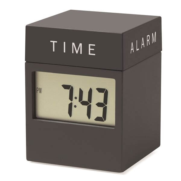4 in 1 Twist Table Clock by MoMA