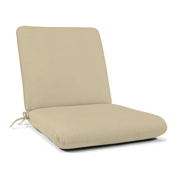 Indoor/Outdoor Sunbrella Club Chair Cushion by Wil