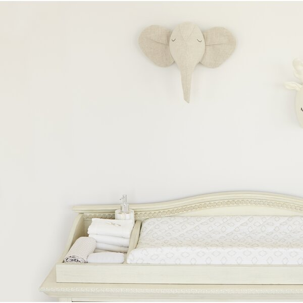 Fairbury Plush Elephant Head by Greyleigh