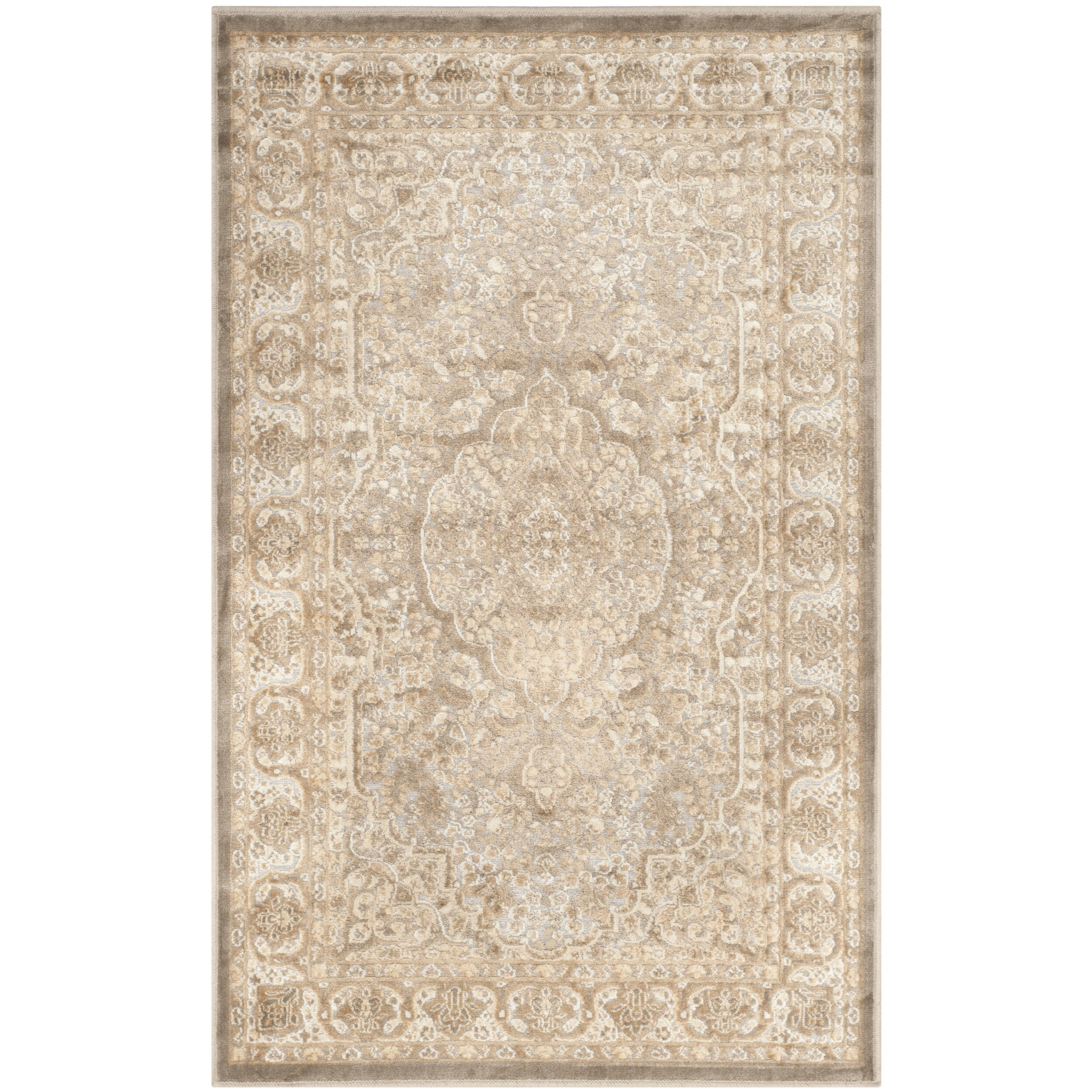 Patrick Mouse Silver Area Rug
