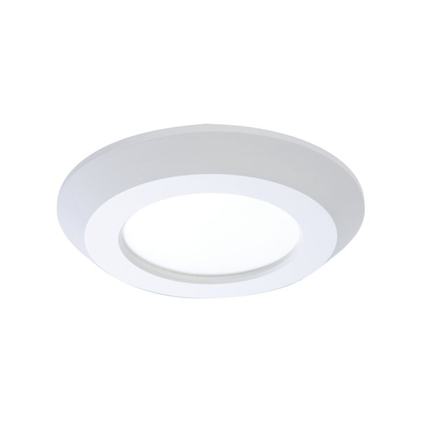 Integrated LED 4 Stepped Baffle Recessed Trim by Cooper Lighting