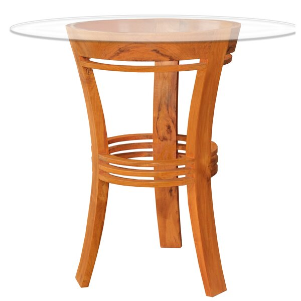 Toby Teak Solid Wood Dining Table by Rosecliff Heights Rosecliff Heights