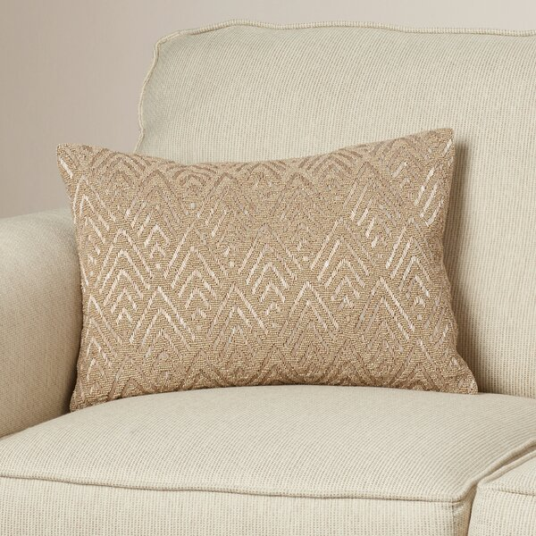 Barnesville Down Lumbar Pillow by Bungalow Rose