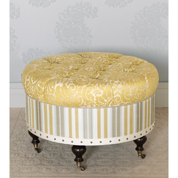 Wakefield Tufted Cocktail Ottoman by Eastern Accents Eastern Accents