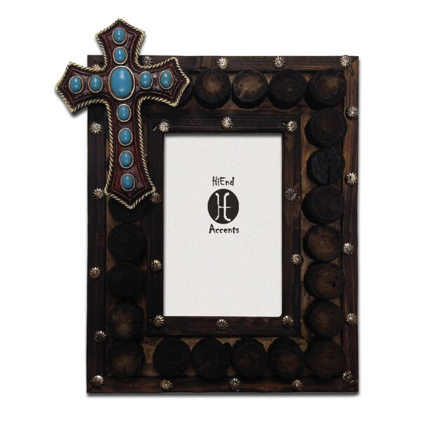 Santee 4 x 6 Wooden Circles Picture Frame (Set of 2) by Loon Peak