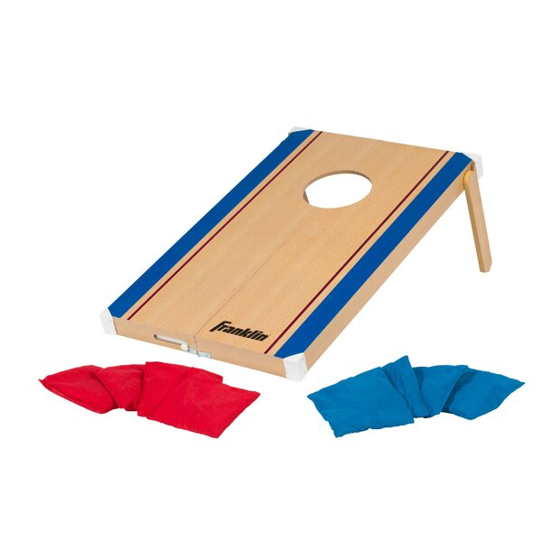 Fold-N-Go Bean Bag Tic Tac Toe/Cornhole Combo Set by Franklin Sports