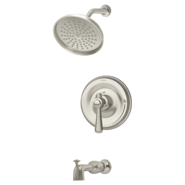 Degas Diverter Tub and Shower Faucet with Trim by Symmons Symmons