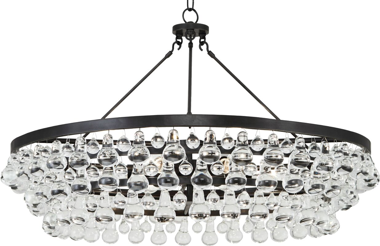 Bling 6-Light Crystal Chandelier