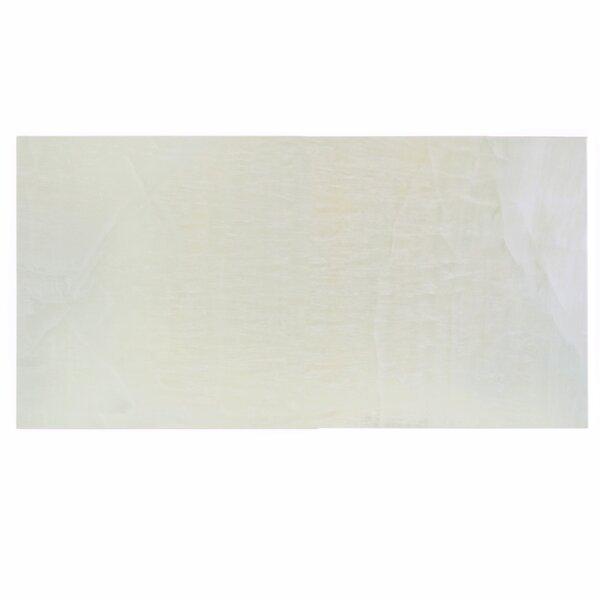 Dhabi 12.5 x 24.5 Porcelain Field Tile in Pearl by EliteTile