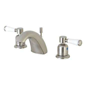 PVD Polished Chrome Finish Pioneer 3LG130 Two Handle Lavatory Faucet