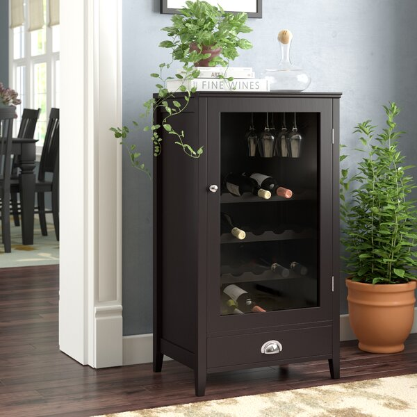 Bangor 20 Bottle Floor Wine Cabinet by Darby Home Co Darby Home Co