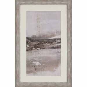 'Afternoon Drizzle II' by Inspire Studio Framed Painting Print by Paragon