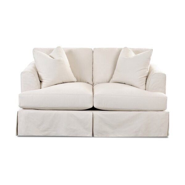 Carly Loveseat by Wayfair Custom Upholstery™