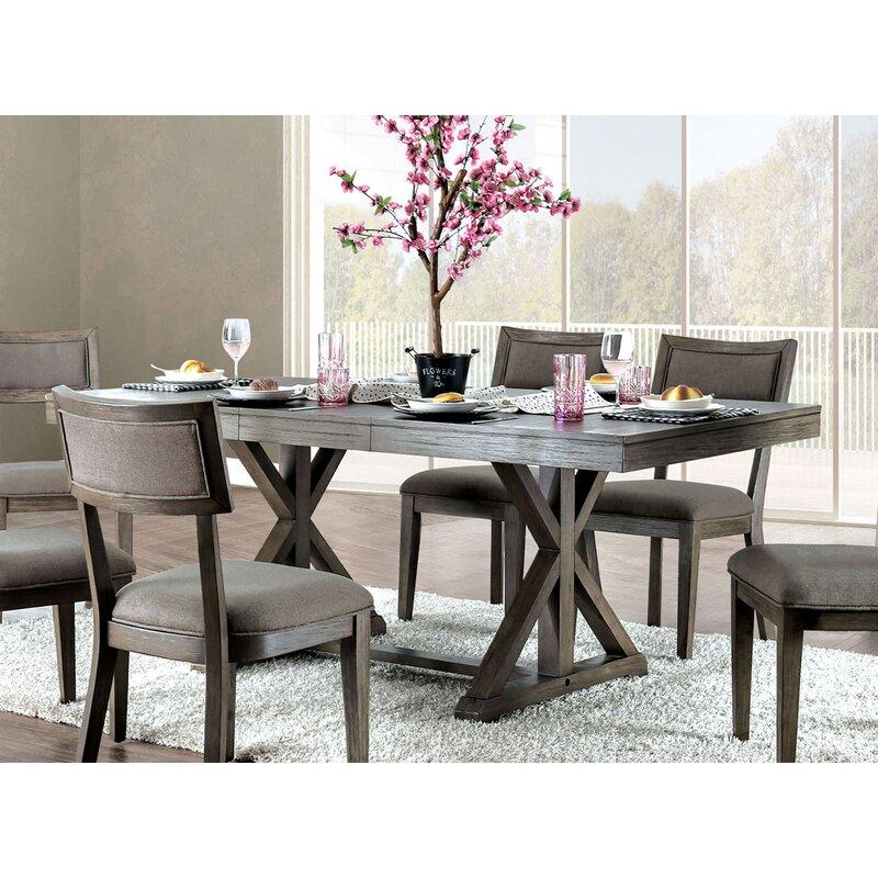 Gracie Oaks Clegg Extendable Dining Table Reviews Wayfair