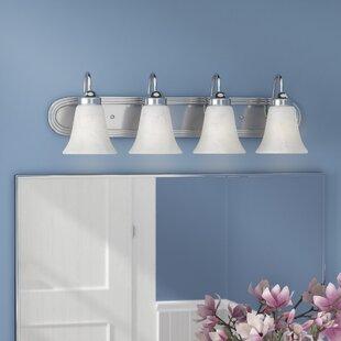 Look for Tiverton Strip 4-Light Vanity Light ByThree Posts