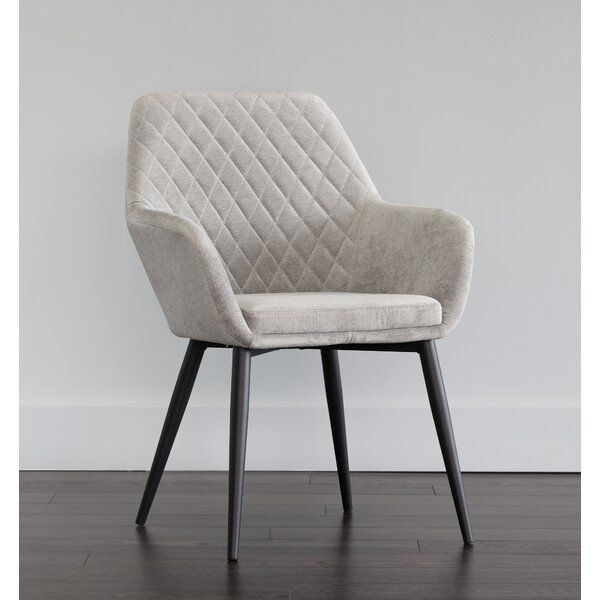 Jayna Upholstered Dining Chair by Sunpan Modern