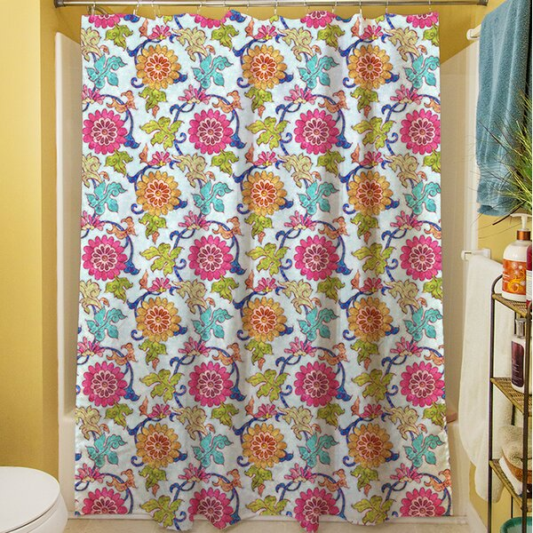 Shangri La Leaves Shower Curtain by Manual Woodworkers & Weavers