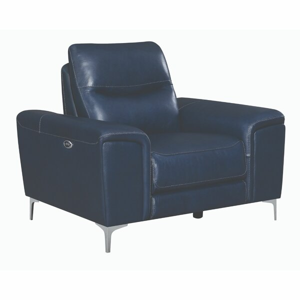 Philips Faux Leather Power Recliner W000216576