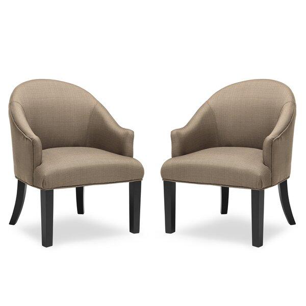 Wynter Barrel Chair (Set of 2) by Gracie Oaks