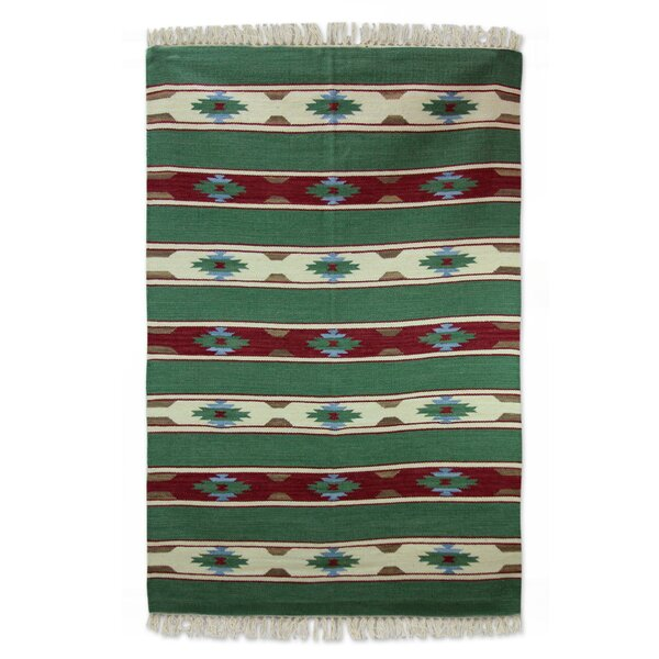 Hand Woven Area Rug by Novica