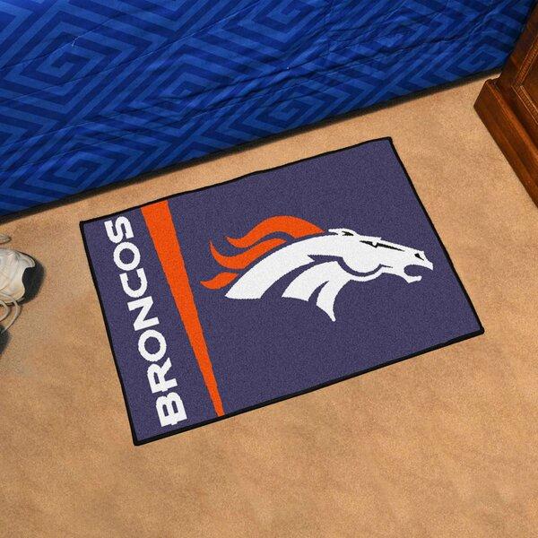 NFL - Denver Broncos Starter Doormat by FANMATS