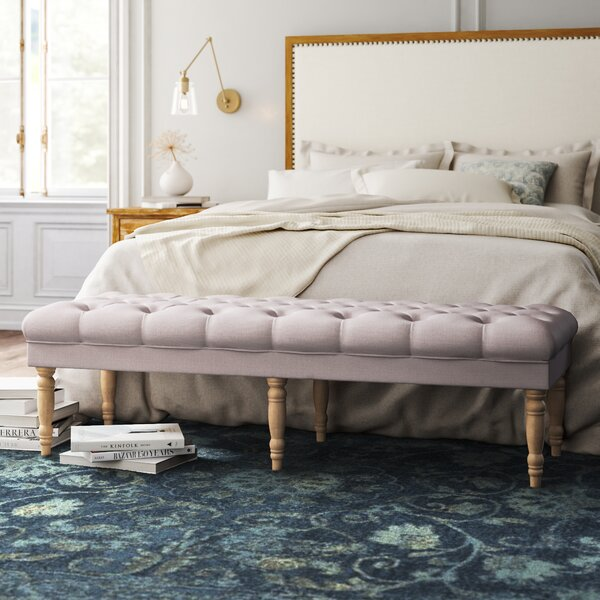 Allegro Upholstered Bench By Kelly Clarkson Home