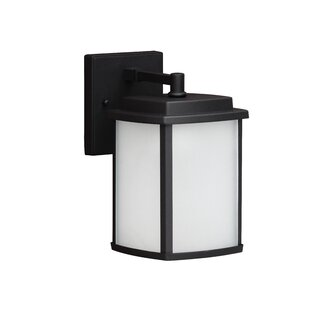 Affordable Juhl 1-Light Outdoor Wall Lantern By Latitude Run