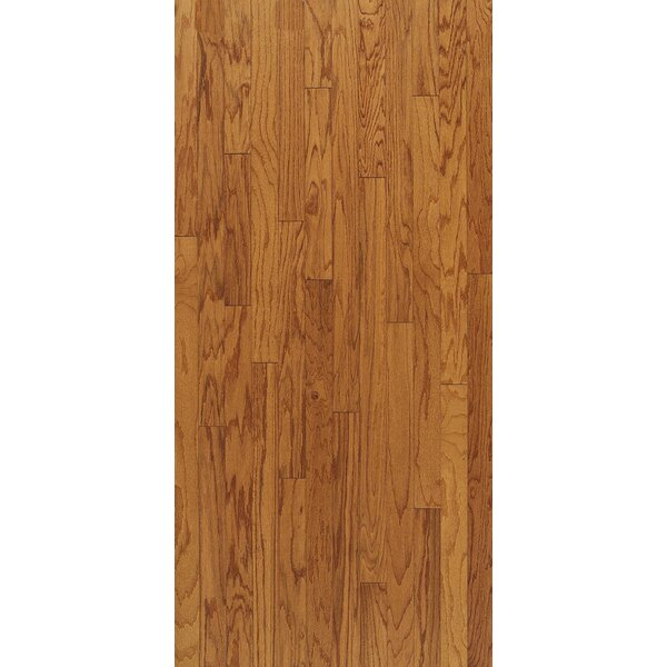 Turlington 5 Engineered Oak Hardwood Flooring in Low Glossy Butterscotch by Bruce Flooring