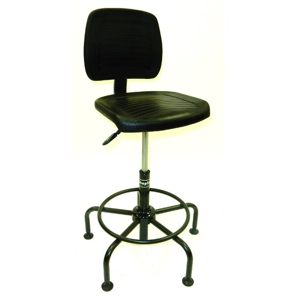 Tubular Base Drafting Chair by Symple Stuff