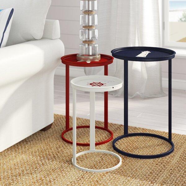 Escarcega 3 Piece Nesting Table Set By Beachcrest Home