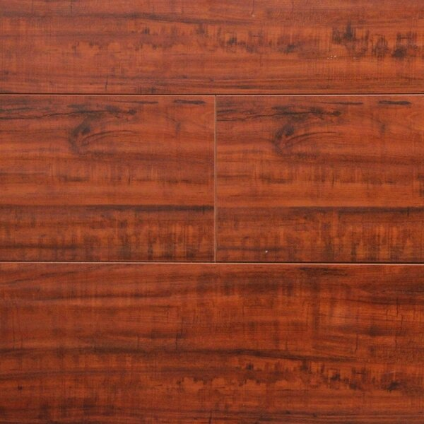 7 x 48 x 12.3mm Laminate Flooring in Rosewood (Set of 22) by Serradon