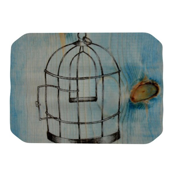 Bird Cage Placemat by KESS InHouse
