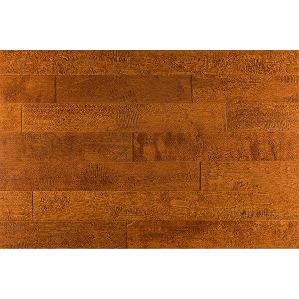 Zellmer 5 Engineered Maple Hardwood Flooring In Indian Yellow by Charlton Home
