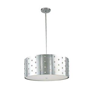 Buy luxury Imogen 4-Light Pendant By House of Hampton